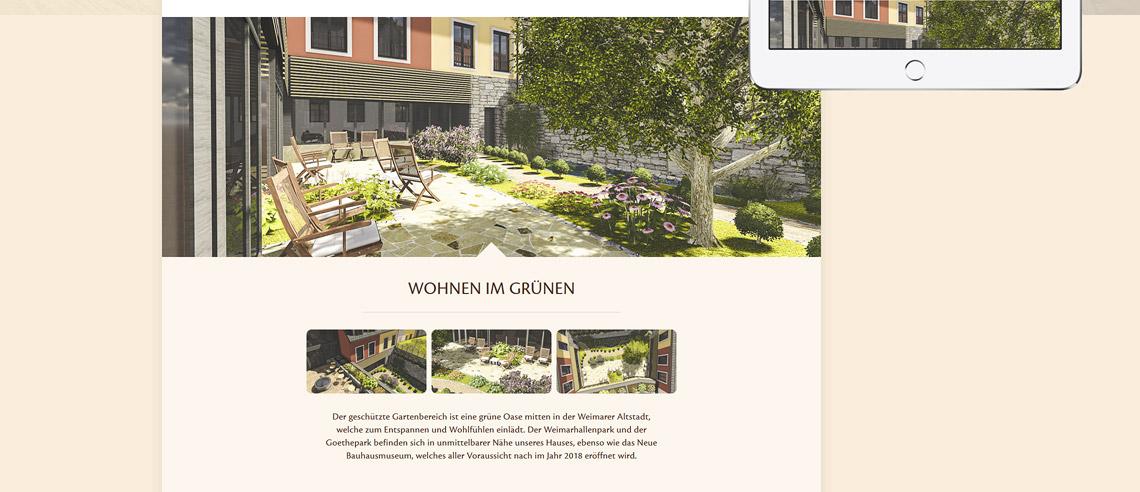 betreutes wohnen im jakobsviertel weimar coop grafikdesign. Black Bedroom Furniture Sets. Home Design Ideas