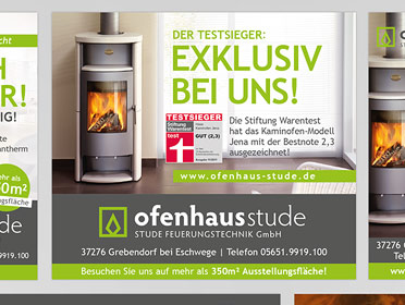 Ofenhaus Stude portfolio coop grafikdesign